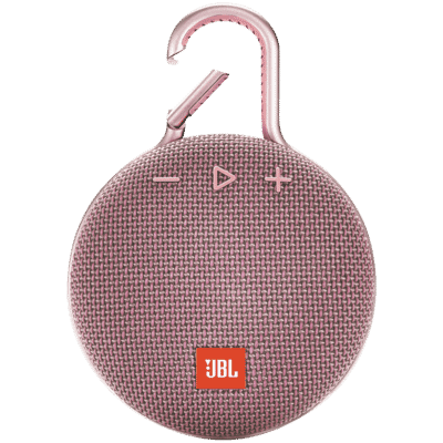 Clip 3 Portable Bluetooth Speaker - Pink
