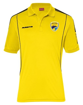 GCU Supporters Barca Polo Yellow