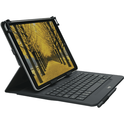Universal Bluetooth Keyboard Folio for 9-10 Tablets