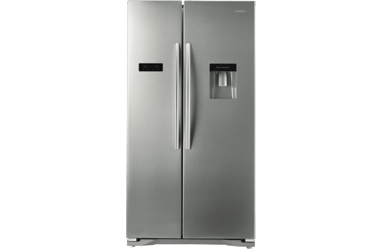 Hisense 610L Side by Side Refrigerator