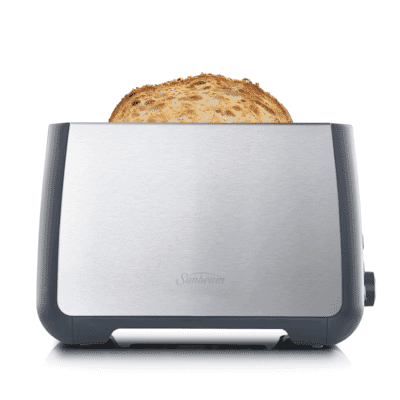 Long Slot Toaster 2 Slice - Stainless Steel