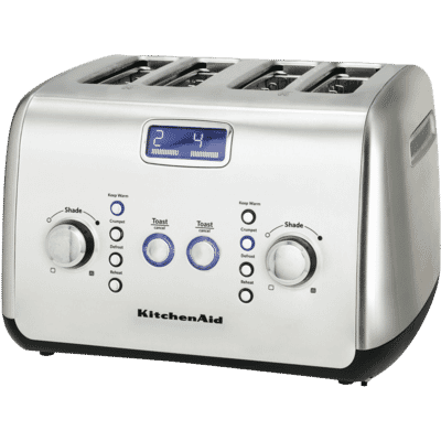 Artisan 4 Slice Toaster - Stainless Steel