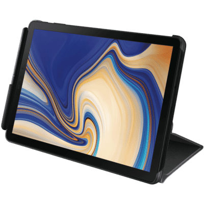 Galaxy Tab S4 Book Cover - Black