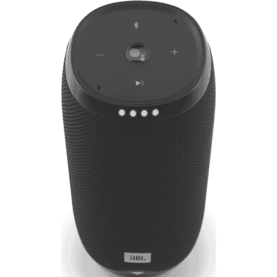 Link 20 Google Voice Activated Portable Speaker - Black