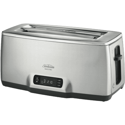Maestro 4 Slice Toaster - Stainless Steel