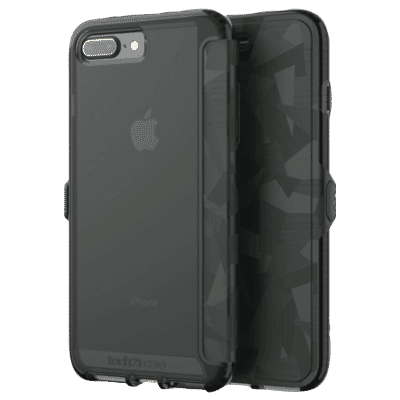 iPhone 8/7/6 Plus Evo Wallet - Black